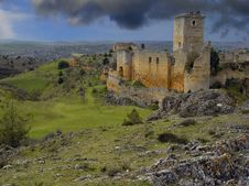 Free Castle Ucero, Soria, Spain Royalty Free Stock Image - 8494976