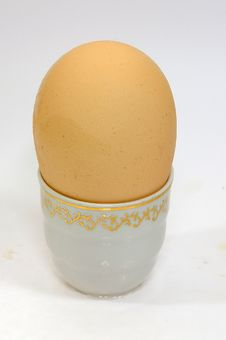 Free Egg Of The Hen Royalty Free Stock Image - 8495396