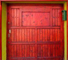Free Red Door Stock Photos - 8496733