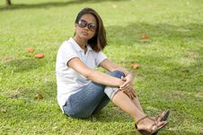 Free Resting At The Park Series 2 Stock Photos - 8497553