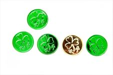 Free Lucky Coins Stock Image - 8498301