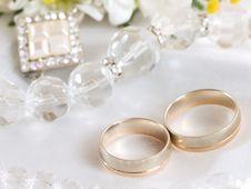 Free Wedding Rings Stock Photos - 8498703