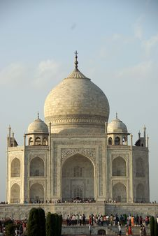 Free The Taj Mahal, India Royalty Free Stock Photography - 8499437
