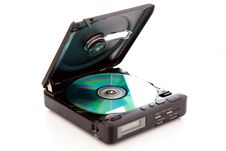 Free Cd Player Royalty Free Stock Image - 8499506