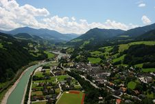 Free Small Town In Alps Stock Images - 8499664