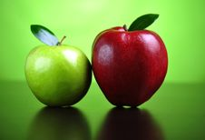 Free Green And Red Apples Stock Images - 8499714