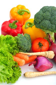 Free Vegetables Royalty Free Stock Images - 8499759