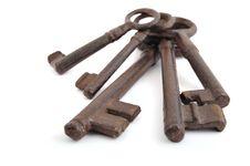 Free Old Keys Stock Image - 8499881