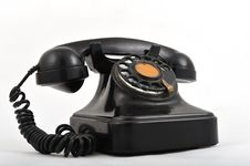 Free Old Telephone Royalty Free Stock Photo - 8499885