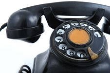Free Old Phone Stock Photography - 8499892