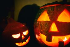 Free Halloween Pumpkin Lanterns Stock Photos - 84900543