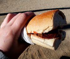 Free Vallvidrera Village: Hotdog Royalty Free Stock Photo - 84902575