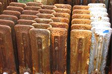 Free Old Radiators Stock Photo - 84903600