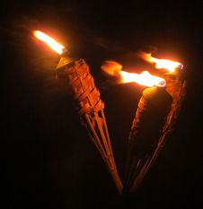 Free Three Torches Royalty Free Stock Photography - 84903747