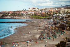 Free Beach On Tenerife Island Stock Photo - 84903910
