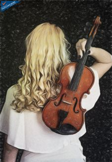 Free Violin Woman - ID: 16218-130713-9998 Royalty Free Stock Photography - 84905197