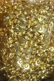 Free Metallic Gold Texture Royalty Free Stock Image - 84905756
