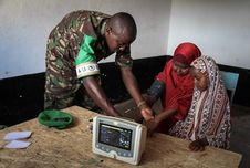 Free 2013_08_19_AMISOM_Sector_Two_Health_Clinic_010 Stock Photo - 84907470