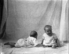 Free Two Babies, 1915 Royalty Free Stock Image - 84909146