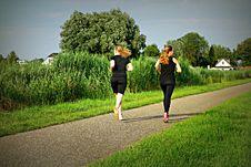 Free PUBLIC DOMAIN DEDICATION - Pixabay - Digionbew 11. 07-07-16 Running Girls LOW RES DSC04671 Royalty Free Stock Image - 84909946