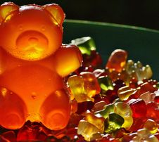 Free Closeup Photography Of Gummy Bears Royalty Free Stock Photography - 84910547