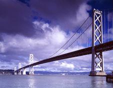 Free San Francisco Bay Bridge Royalty Free Stock Image - 84910846
