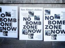 Free Rally For Aleppo - 01 Royalty Free Stock Photos - 84910948