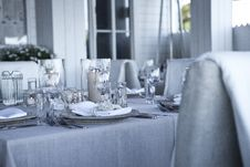 Free Table Setting Stock Photo - 84911100