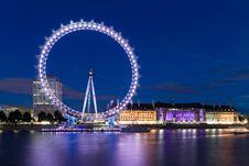 Free London Eye Royalty Free Stock Images - 84912309