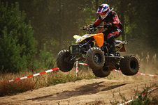 Free Quad Bike Taking Off Stock Images - 84912464