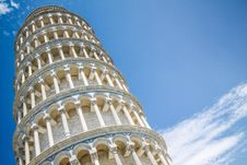 Free Leaning Tower Of Pisa Stock Image - 84913191