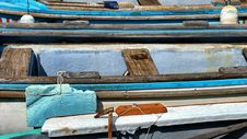 Free Wooden Boats In Pier Stock Photo - 84918680