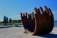 Free Rusty Ribs Sunset Beach Vancouver BC Royalty Free Stock Photography - 84919077