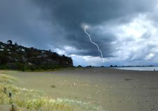 Free Approaching Storm. Royalty Free Stock Photos - 84919108