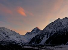 Free Dawn Over Mount Cook. Royalty Free Stock Images - 84920089