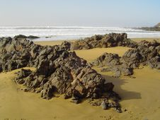 Free Playa Salvaje Entre Agadir Y Sidi Ifni &x28;Marruecos&x29; Stock Photography - 84920612