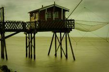 Free Boathouse On Dock Royalty Free Stock Photography - 84921717