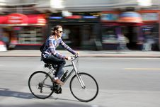 Free Cycling In San Francisco Stock Images - 84922624