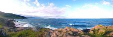 Free Panorama Da Trilha Da Praia Da Silveira. Royalty Free Stock Image - 84922786