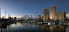 Free Ala Wai Harbour Honolulu. Stock Image - 84923871