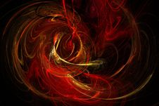 Free Flame Fractal 9 Royalty Free Stock Photos - 84924998
