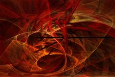 Free Flame Fractal 13 Royalty Free Stock Photography - 84925007