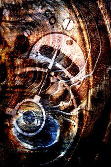 Free Wood Texture-gear Combo Stock Photo - 84925730