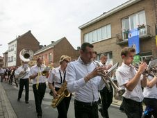 Free 2015 - Procession Saint Jean - Enghien Royalty Free Stock Images - 84925799