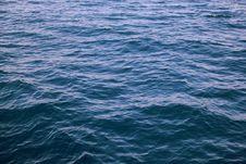 Free Blue Ocean Choppy Water Royalty Free Stock Photo - 84926165