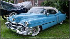 Free 1953 Cadillac Eldorado Special Sport Convertible Stock Photography - 84926332