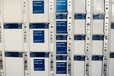 Free Coin Lockers Stock Photo - 84926640