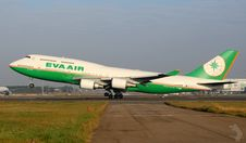Free Eva Air Airliner At Take-off Stock Images - 84927034