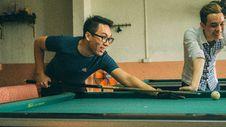 Free Men Playing Pool Stock Photo - 84927130