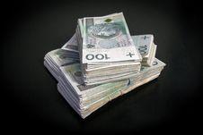 Free Polish Zloty Stock Image - 84928161